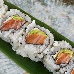 SAKE AVOCADO salmone, avocado, Philadelphia - SAKE AVOCADO salmon, avocado Philadelphia