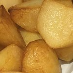 Side dish of roast potato