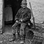 A kerry Peasant in 19th Century Ireland