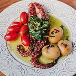 Polvo Lagareiro / Grilled Octopus with Olive Oil