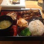 Chicken terayaki bento menu cover