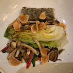 Hispi cabbage- a treat for a vegan