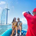 90分钟快艇之旅:Marina,Atlantis,Palm&Burj Al Arab ......