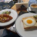 Завтрак в кафе Paul