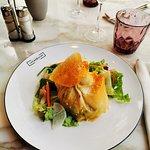 Papillote de saumon - plat du jour