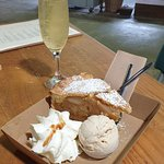 Pie to die for with award winning dry cider