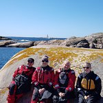 Drysuit is included when taking a guided kayak tour between late May and mid October.