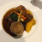 Superb roast beef and all the trimmings for Sunday lunch