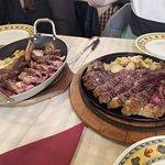 La carne en su justo punto siempre, pero si quieres un poco más pasada te dan un plato caliente