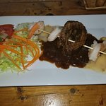 Churrasco Deluxe(Skirt (Hanger) steak and shrimp