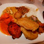 Selections from Samudra's lunch buffet