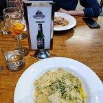 Classic italian beer (peroni)