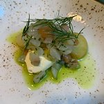 Whitefish tartar with olive oil & sour cream