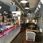 Cream Parlor interior