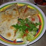 Chicken Satay Quesadilla