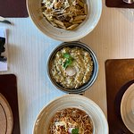 3 types of pasta (freaked in the middle)