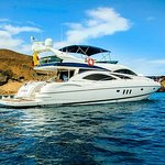 Santa Fe and South Plazas Galapagos Day Trip - Aboard Luxury Windrose Yacht