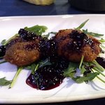 L'aroma - fried goat cheese