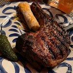 Incredible Tomahawk Pork Chop