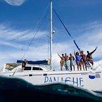 Panache Sailing: Excursión en catamarán por la mañana en Playa Flamingo de Costa Rica