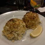 The Hugh crab cakes so delicious.