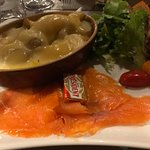 Patata avec saumon