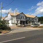 Great looking pub from the front road