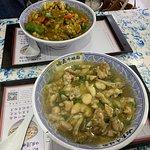 カレー味(奥)と普通の味