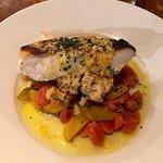 Le poisson du jour cuit à point