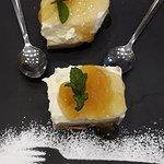 το Cheese cake που μας προσέφεραν στο τέλος... Υ-ΠΕ-ΡΟ-ΧΟ!!!