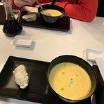 Cheese cream-soup