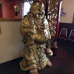 Dragon House Chinese Restaurant - decorations near door