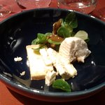 08 Fromage Assiette de fromages affinés « douceur et caractère » Le Figou, la tomme morgée, le b