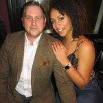 Paul Saunders & his wife Zowie