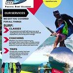 Professional surf classes