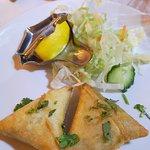 samosas, nice and crispy-fresh