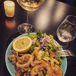 Fritures de fruits de mer : frito misto.