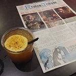 Doom of Valyria et le journal (dos de la carte)