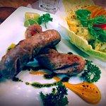 Saucisses Allemandes et Salade de Pommes de Terre