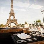 Luxury Paris Bus Dining Experience