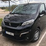 Transfer from Corfu Airport or Port to Moraitika, up to 7 customers