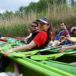 Kayak trip through Kashubian Switzerland