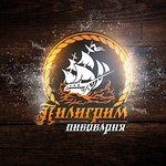"Обновлённый логотип пивоварни ""Норд Пилигрим""."