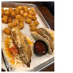 Fish Tacos with Potato Tots