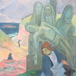 Paul Gauguin, 'Le Calvaire Breton' (Green Christ)', 1888-1889, Musee Fin-De-Siecle, Musees des Beaux-Arts, Brussels