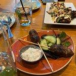 Lamb kofta, cauliflower steak