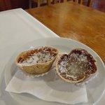 Os pastelinhos de amêndoa, cortesia servida com os cafés