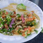 well doctored tacos de cabeza and birria...