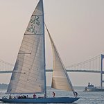 2 Hour Newport Harbor Sail Aboard Former America's Cup Yacht
