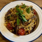 Slow roasted confit duck with tagliatelle pasta at Redcliff